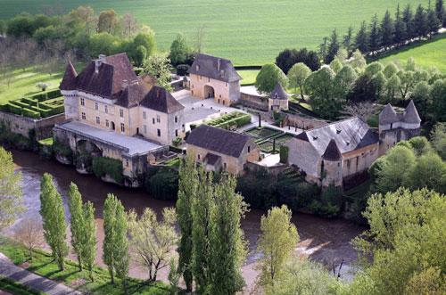 Château de Losse 35kms