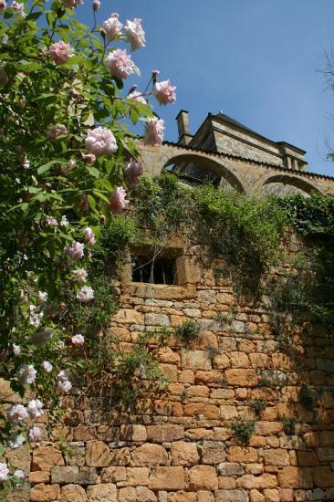 château depuis le chemin des remparts